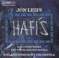 Hafís : and other works for voices and orchestra